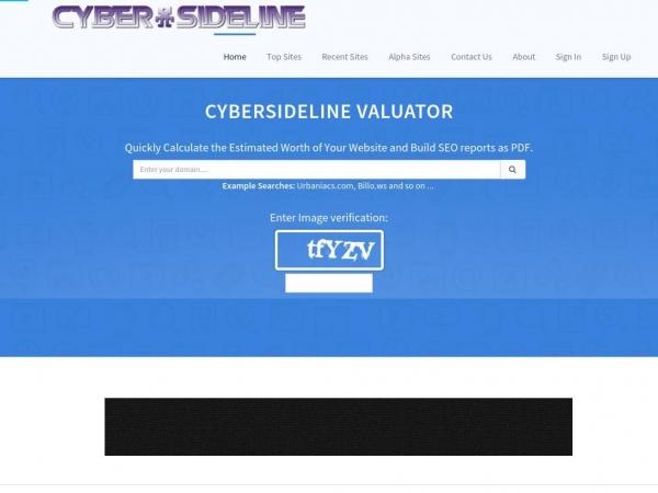 valuator.cybersideline.com
