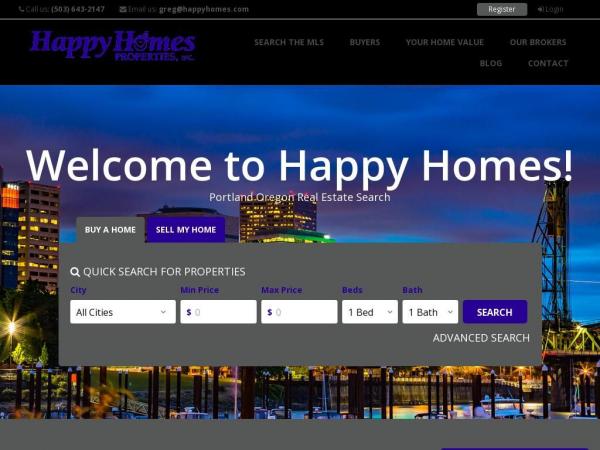 happyhomes.com